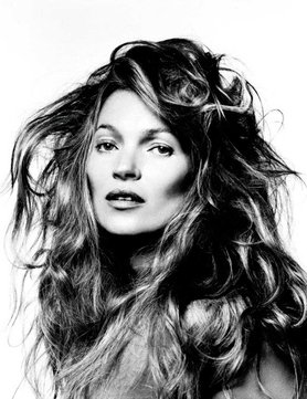 Kate Moss by David Bailey, part of the Stardust collection at the National Portrait Gallery.
