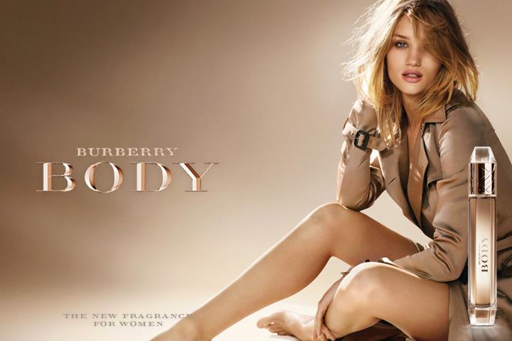Rosie Huntington Whiteley for Burberry Body.