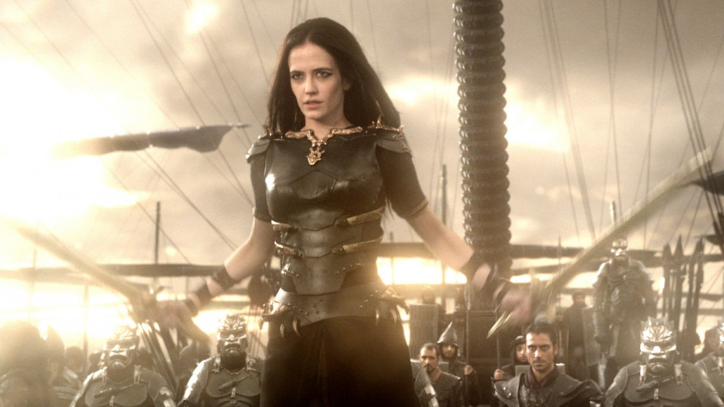 Eva Green in 300: Rise Of An Empire.