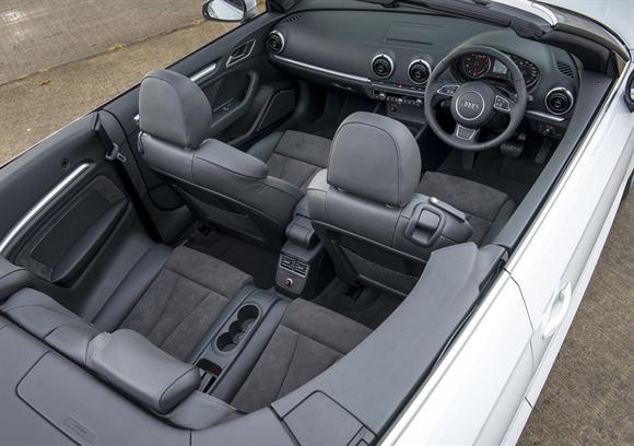 Audi A3 Cambriolet Interior.