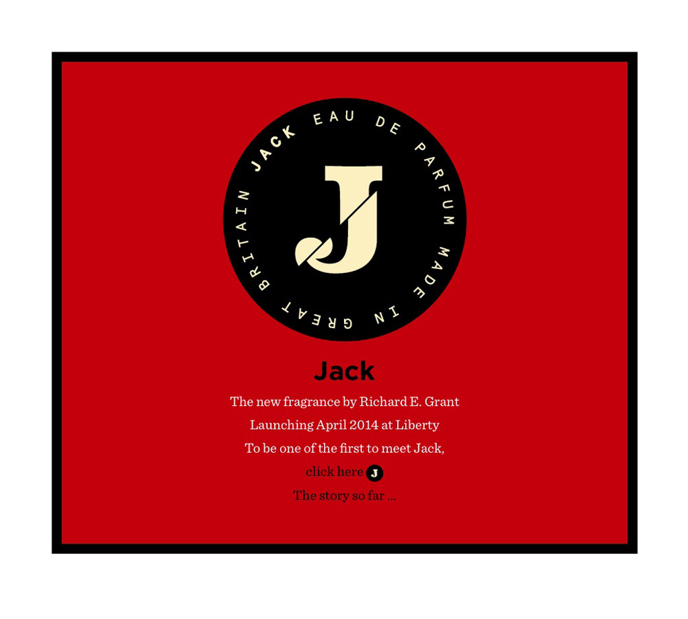 Richard E Grant Jack Perfume.