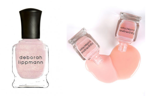 Deborah Lippmann Nail Polishes in La Vie En Rose, Sarah Smile and Tiny Dancer (all £16.00).