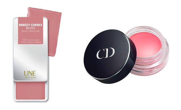 UNE Breezy Cheeks Blush, Dior Cheek Creme.
