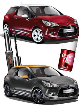 Citroen DS3 by Benefit.