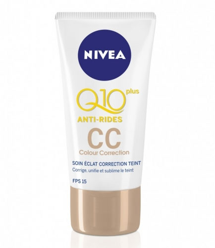 Nivea Q10plus Anti Wrinkle CC Cream (£7.33)