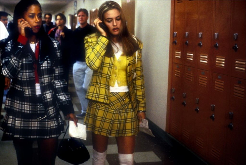 Alicia Silverstone as Cher in Clueless.