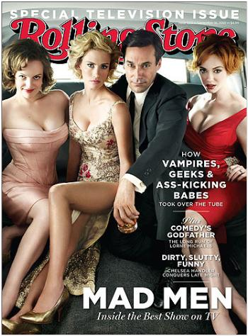 Mad Men cover on Rolling Stone.