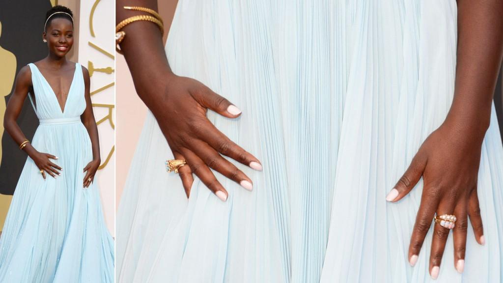Oscars 2014: Lupita Nyong'o manicure.