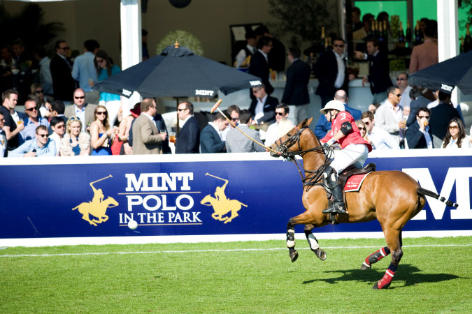 <b>A DAY AT THE POLO?...</b>