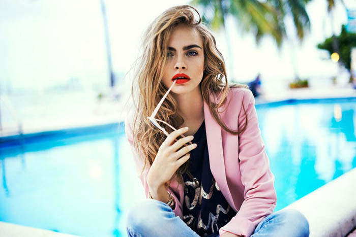 cara delevingne new face of topshop