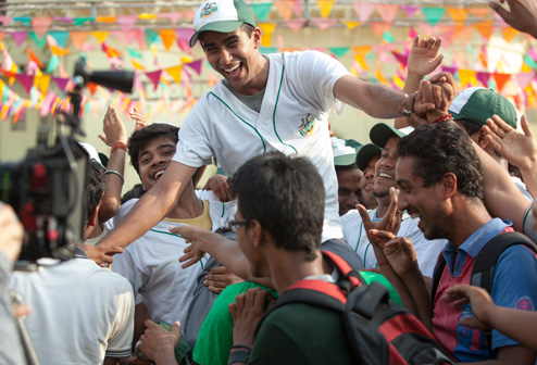 Suraj Sharma now starring in Million Dollar Arm.