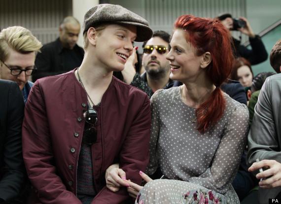 Celebrities attend TOPMAN Design - London Fashion Week
