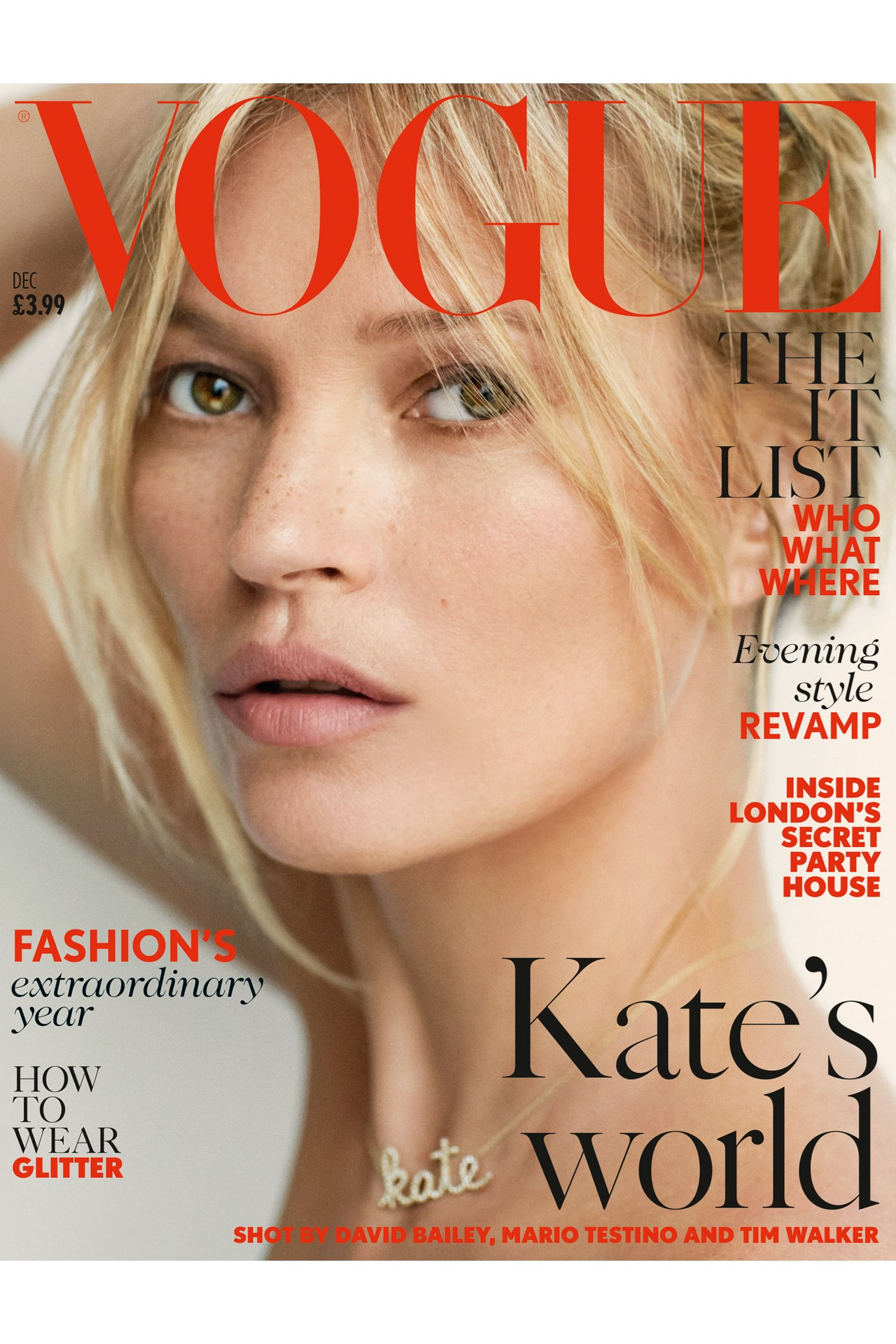 <b>KATE MOSS IS VOGUE'S...</b>