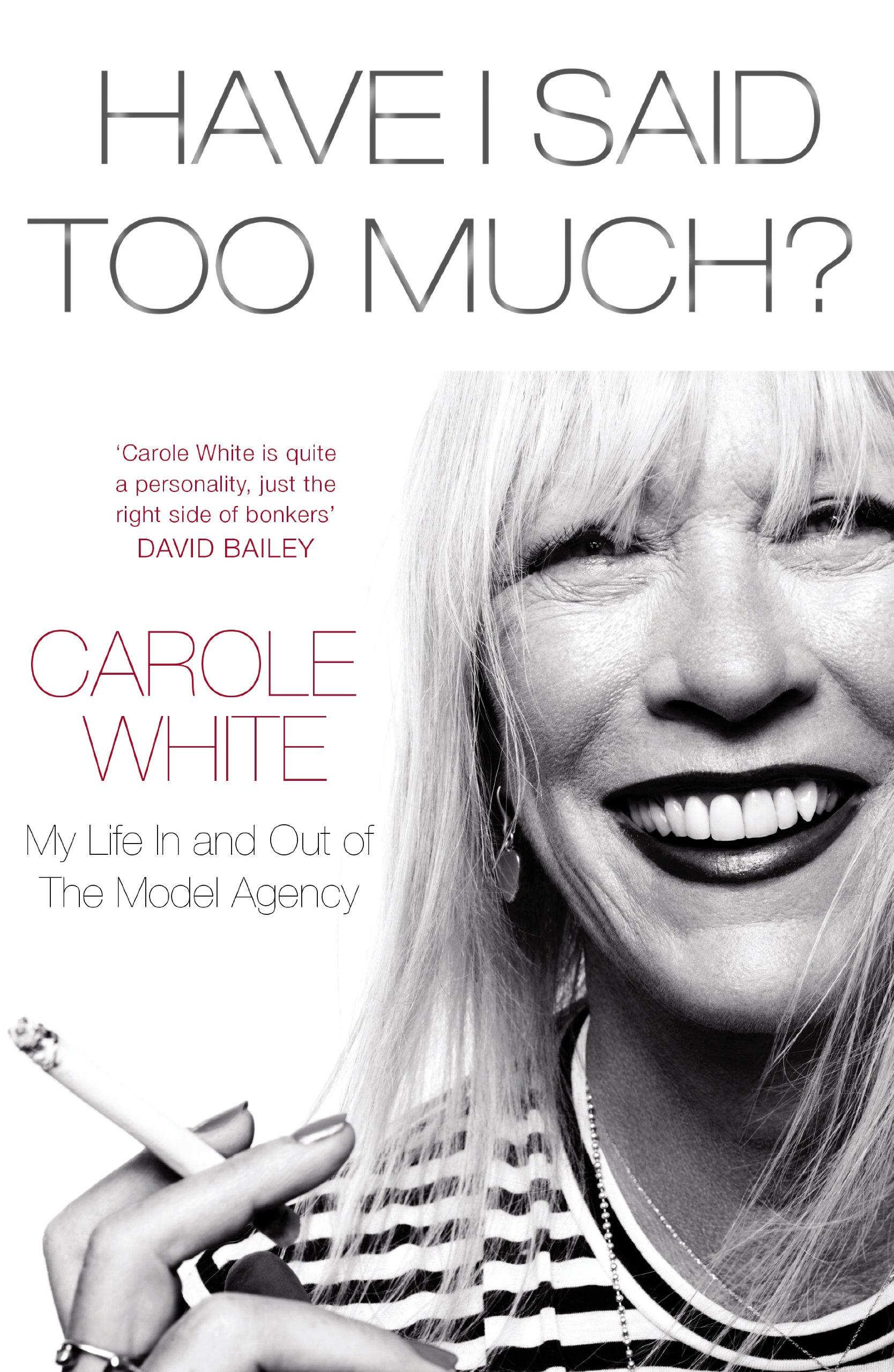 <b>CAROLE WHITE: HAVE I...</b>