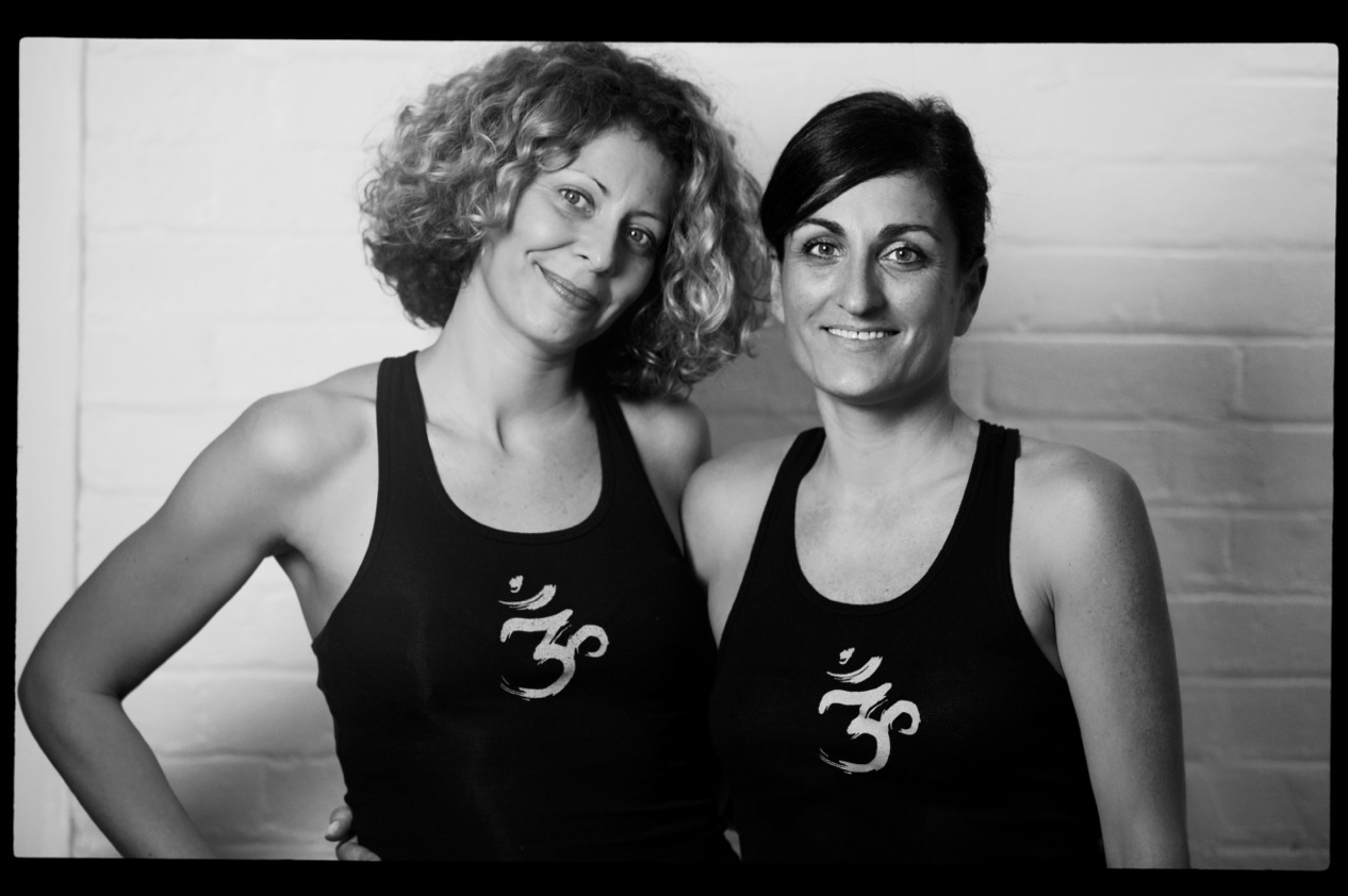 The Power Yoga Co founders Amelie and Marie-Laure.