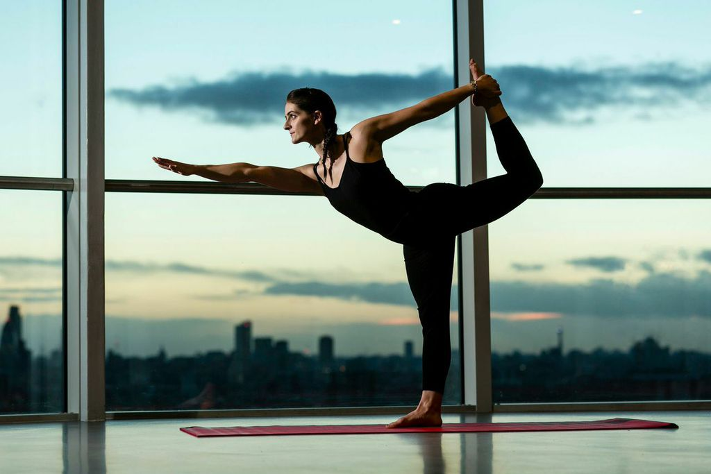 <b>YOGA IN THE SKY AT T...</b>