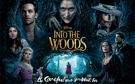<b>WIN! INTO THE WOODS ...</b>