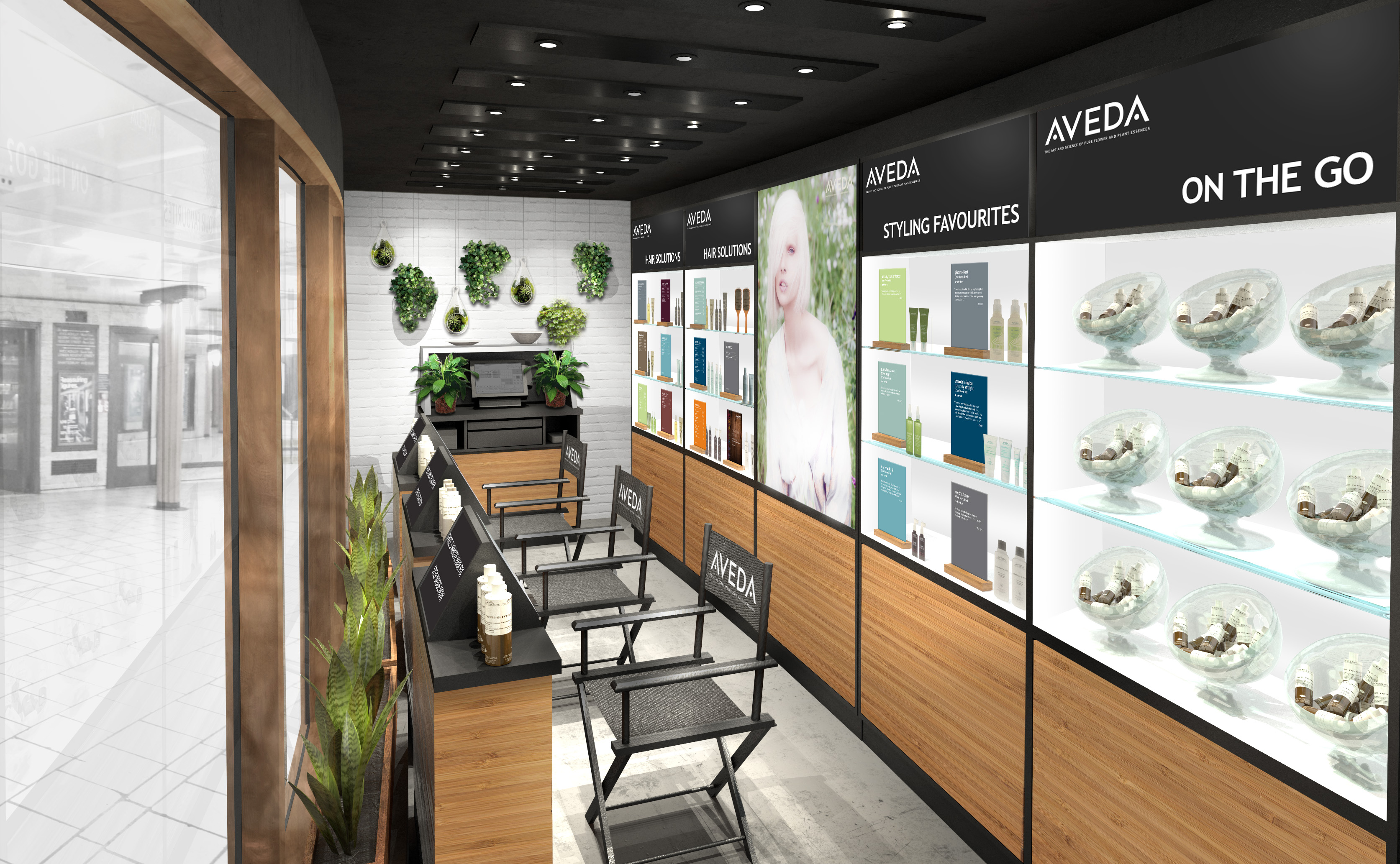 <b>Aveda's New Pop-Up...</b>