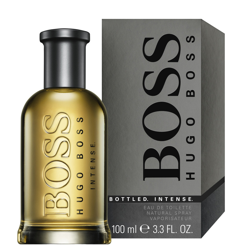 <b>BOSS BOTTLED INTENSE...</b>