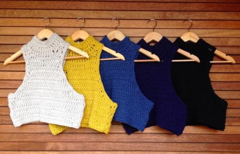 Hamptons Crochet Crop