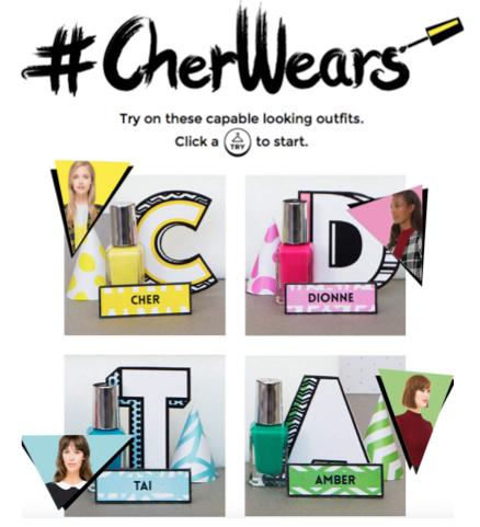 <b>#CHERWEARS: CLUELESS...</b>