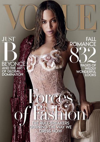 <b>BEYONCE Covers Vogue...</b>