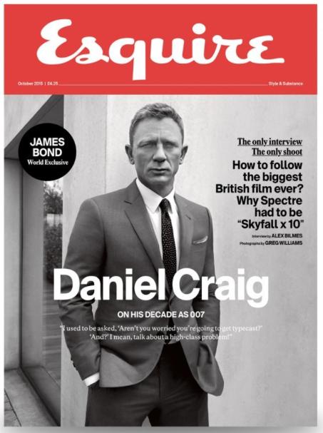 <b>Daniel Craig is Esqu...</b>