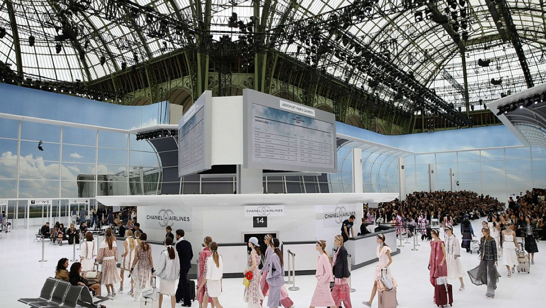 <b>CHANEL's Airline PFW...</b>