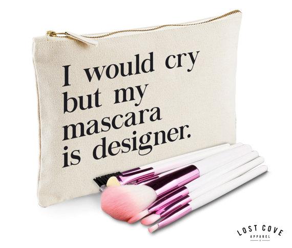 Spotlight Slogan Makeup Bags Beauty And The Dirt
