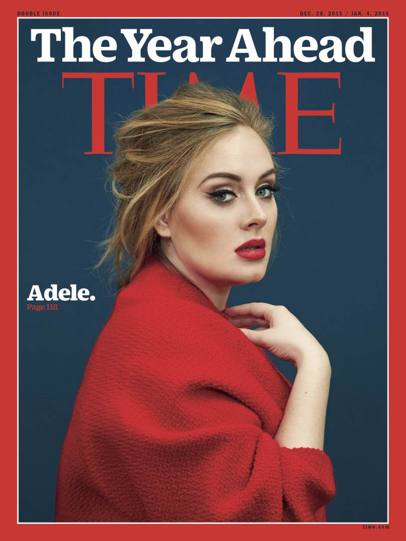<b>ADELE on Cover of Ti...</b>