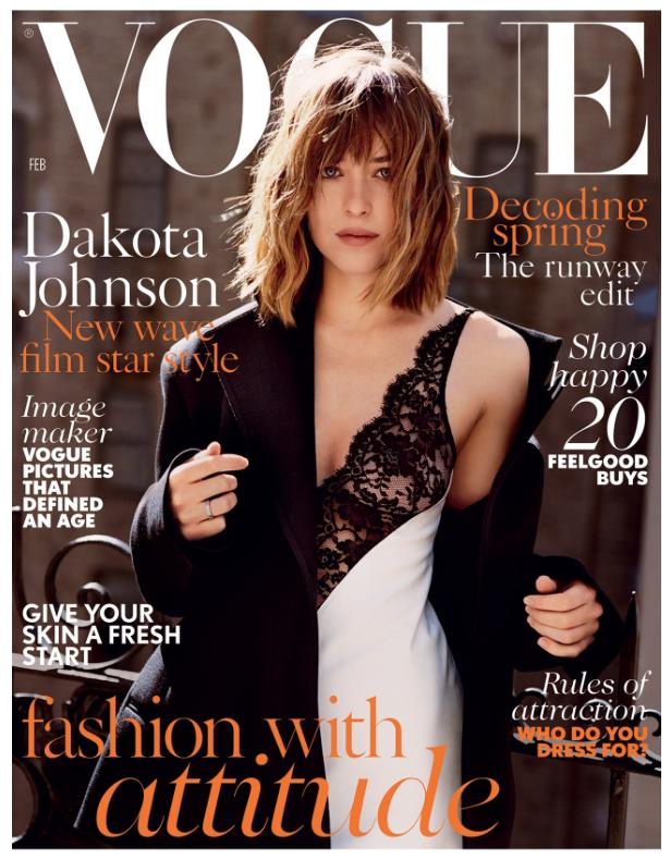 <b>Dakota Johnson Cover...</b>