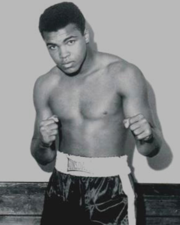 <b>MUHAMMAD ALI EXHIBIT...</b>