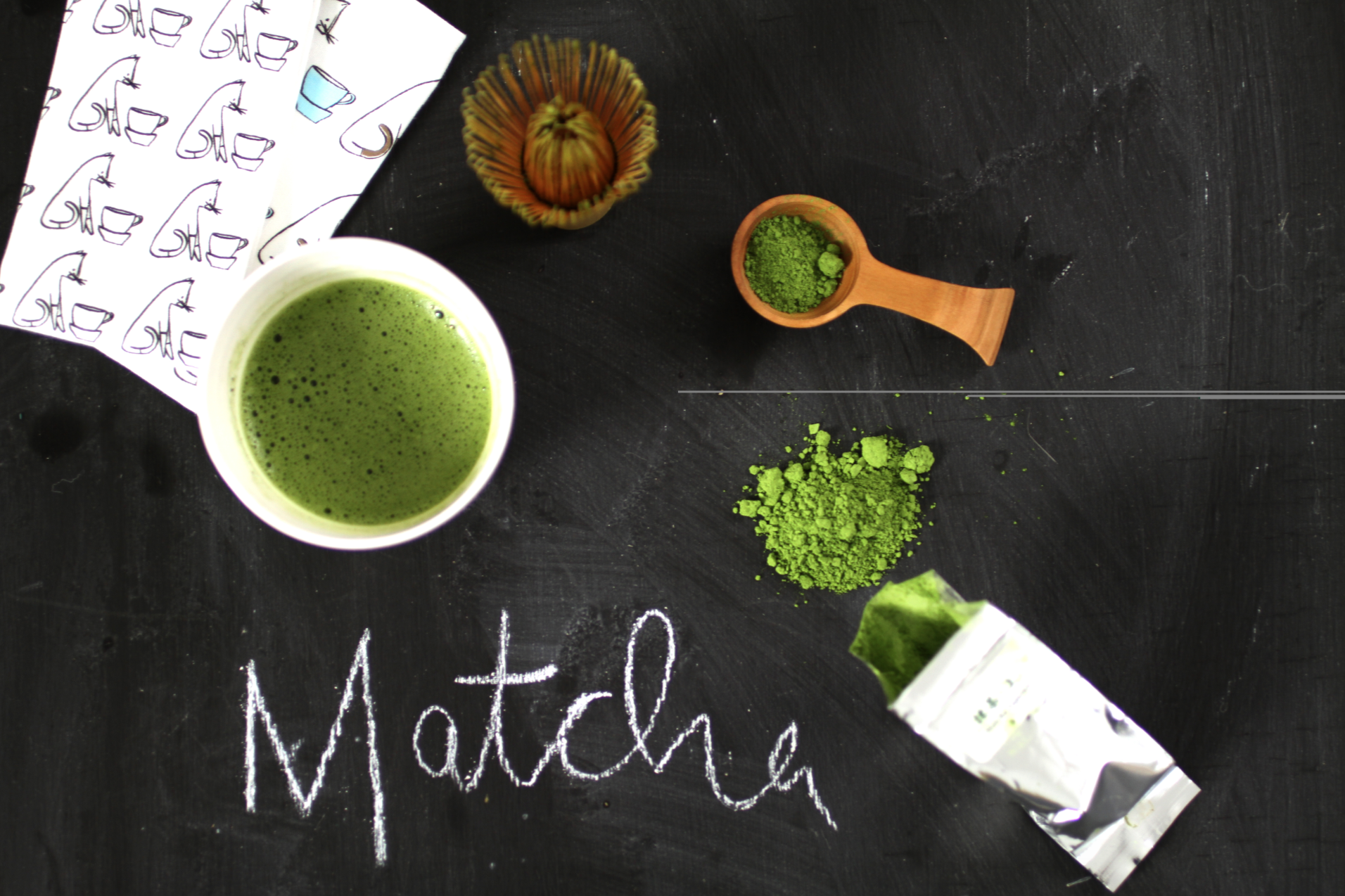 <b>WHY DRINK MATCHA GRE...</b>