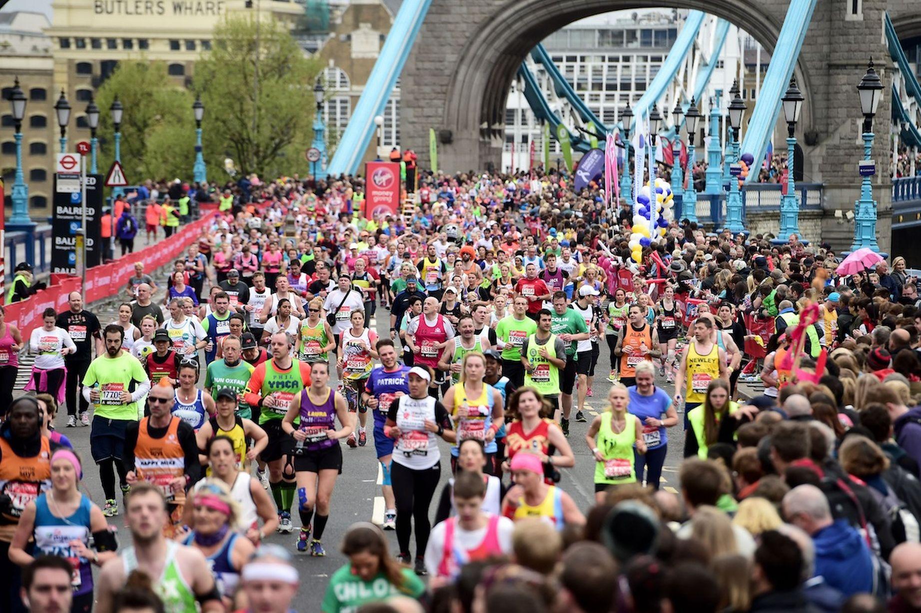 London Marathon event director Hugh Brasher