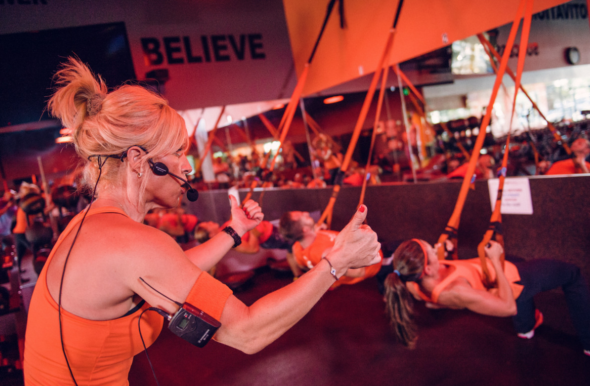 <b>ORANGE THEORY FITNES...</b>