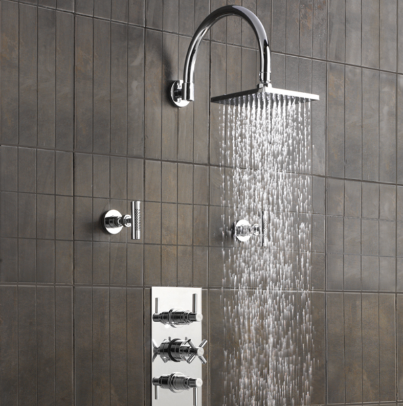 <b>POWER UP YOUR SHOWER...</b>