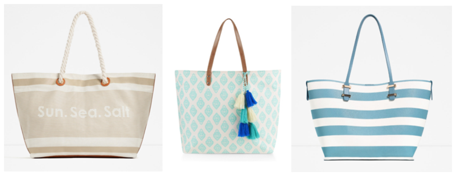 FUN BEACH TOTE BAGS | Beauty And The Dirt