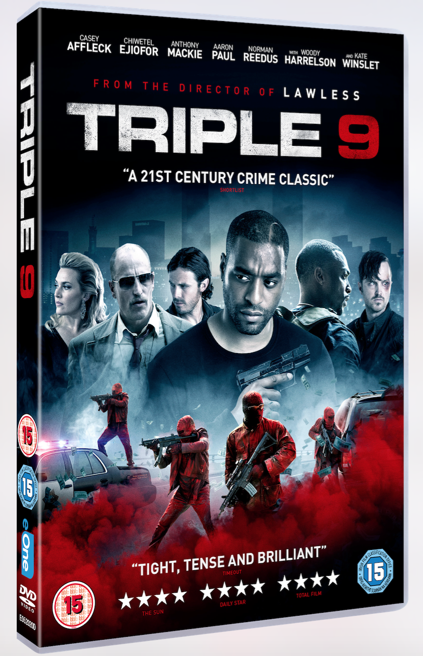 <b>WIN TRIPLE 9 ON DVD!...</b>
