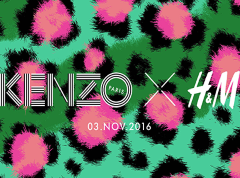 FIRST H&M x KENZO LOOKS REVEALED