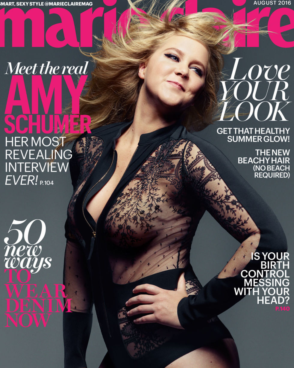 <b>AMY SCHUMER OPENS UP...</b>