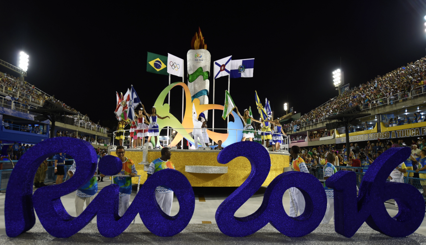<b>THE RIO OLYMPICS IS ...</b>