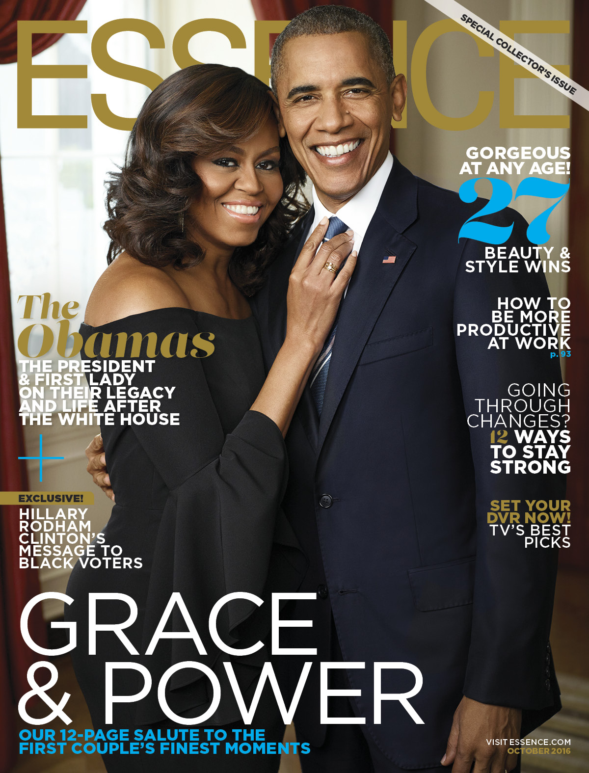 <b>MICHELLE AND BARACK ...</b>