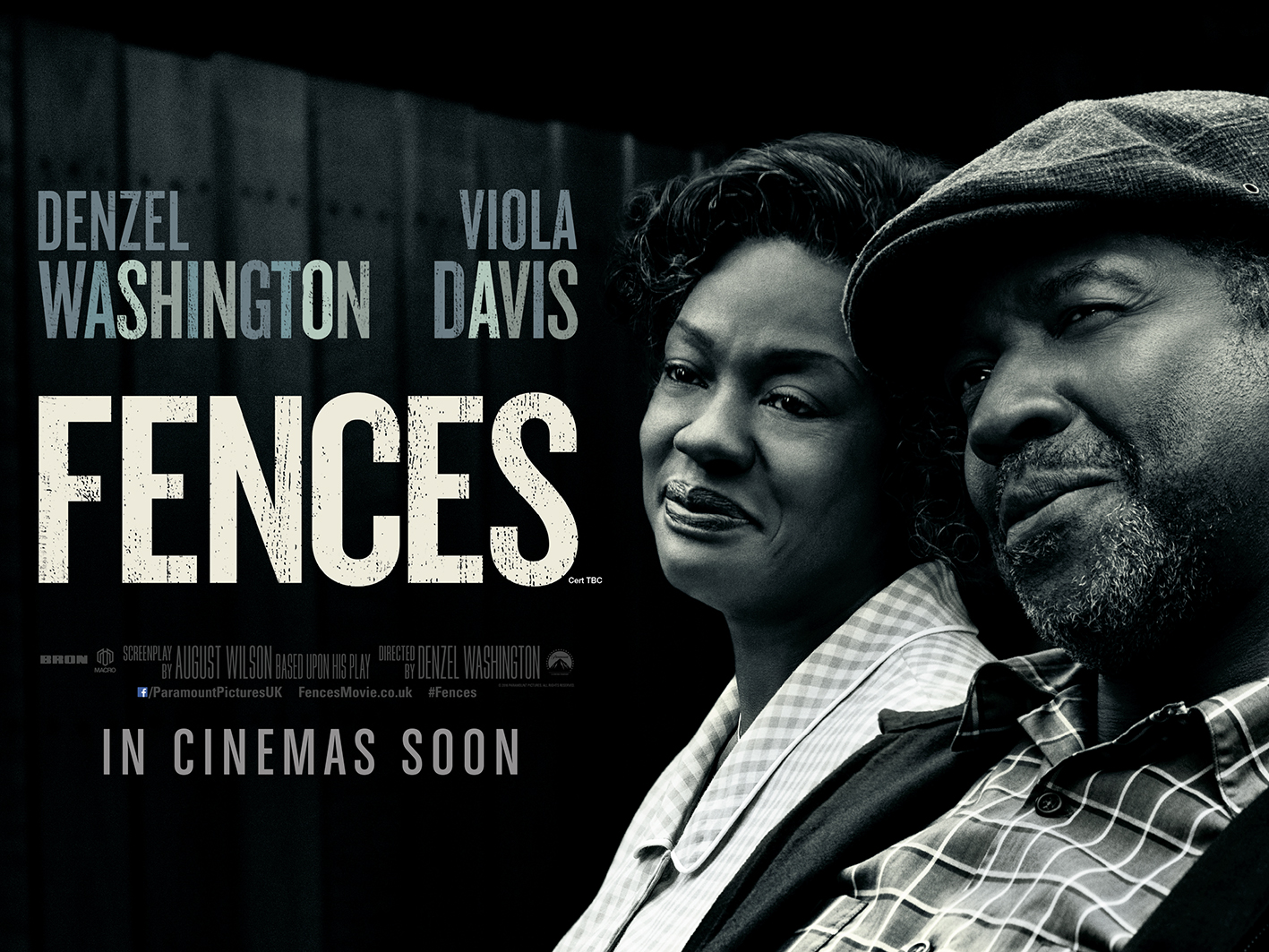 <b>NEW TRAILER: FENCES...</b>