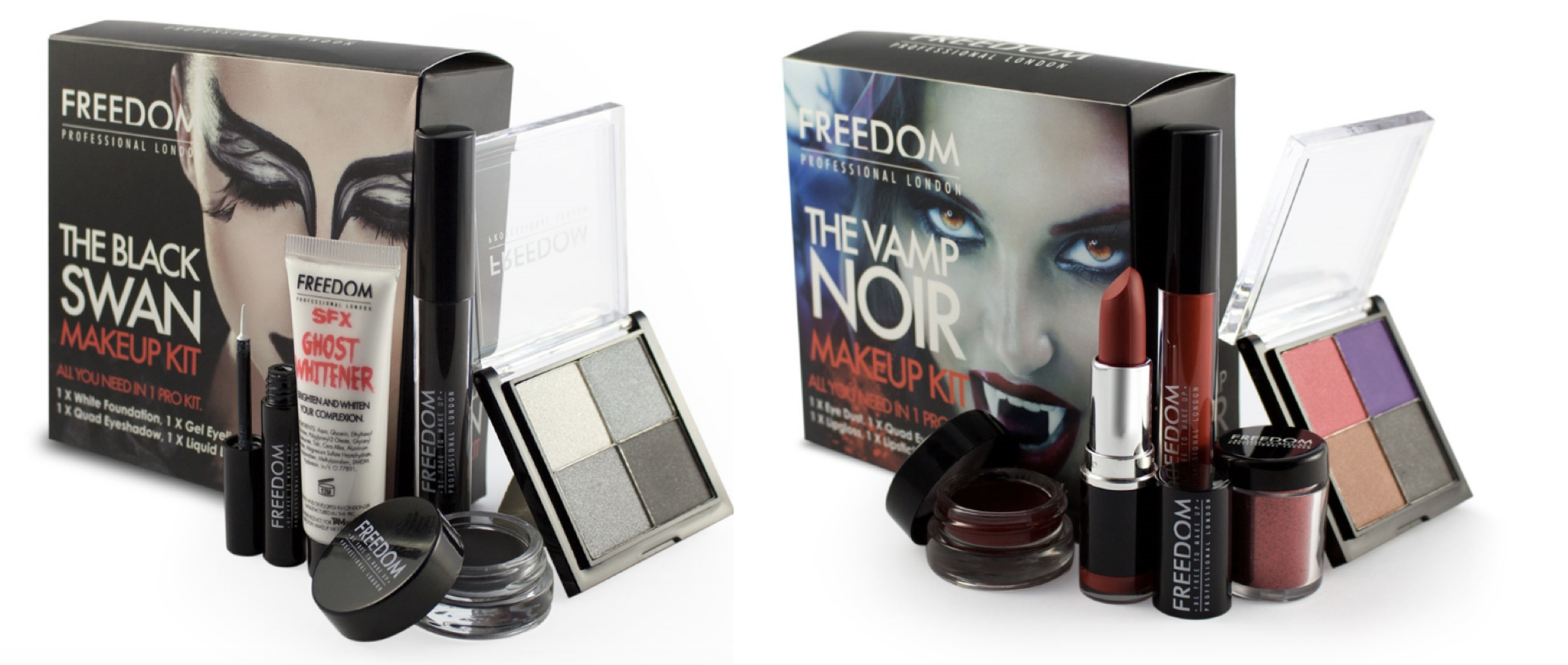 HALLOWEEN KITS BY FREEDOM MAKEUP | Beauty And The Dirt