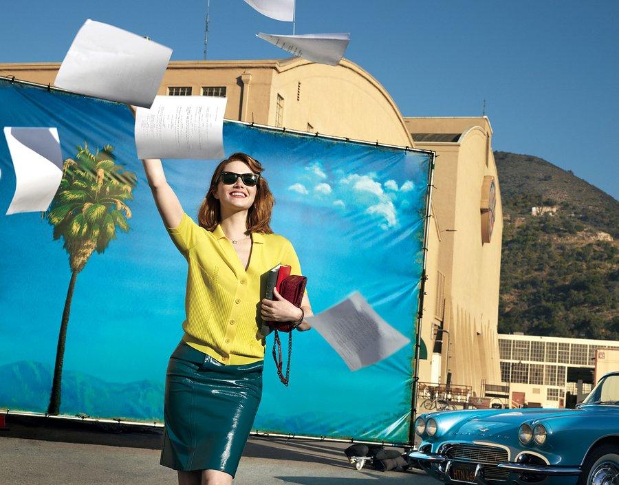 <b>EMMA STONE ON LA LA ...</b>
