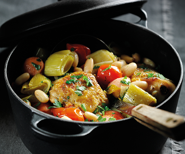 Chicken & Leek Cassoulet