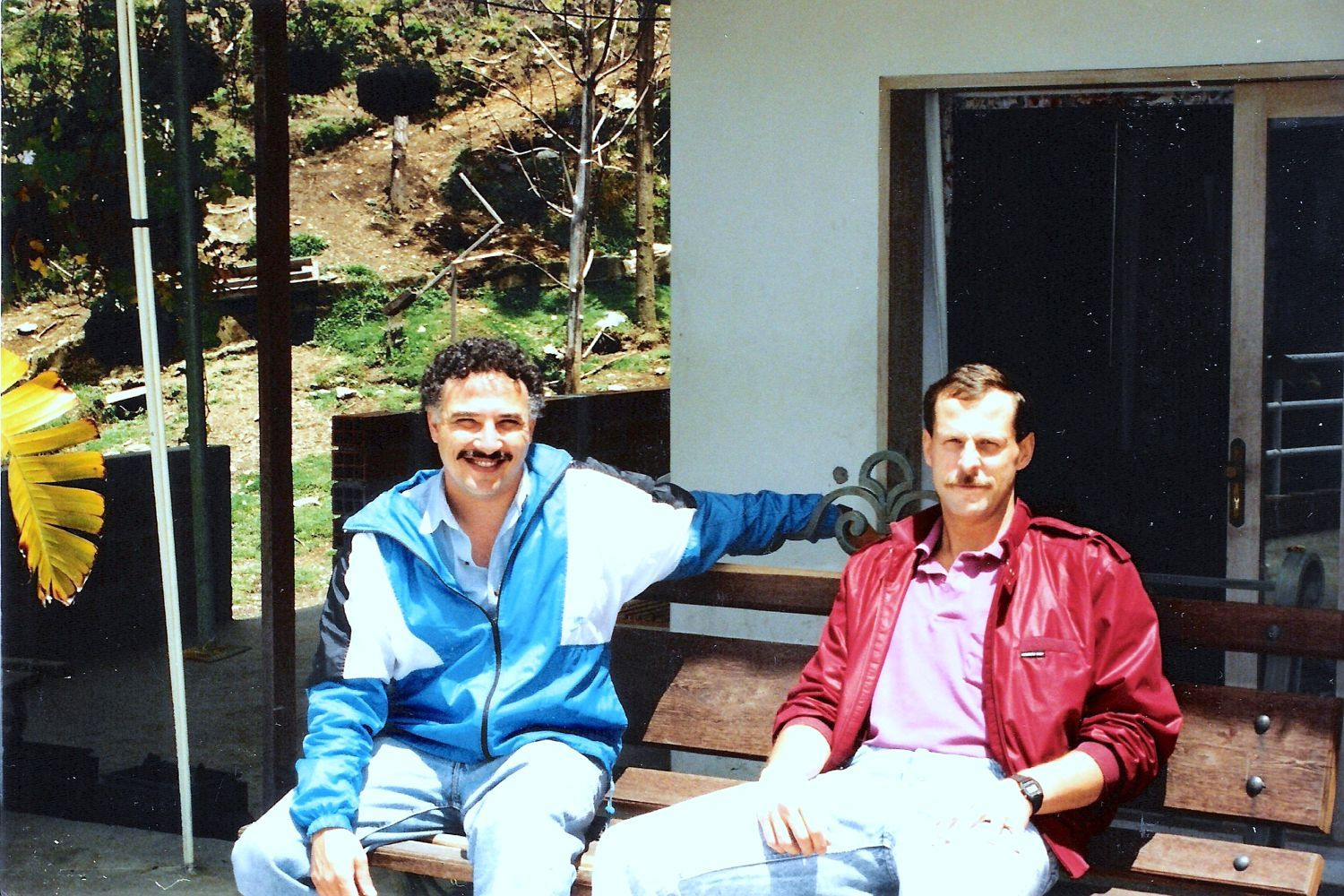 The real DEA Agents Javier Pena & Steve Murphy