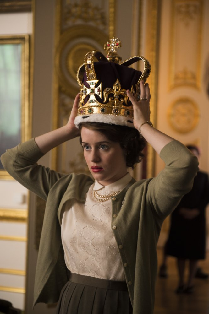 <b>OUT TODAY: THE CROWN...</b>