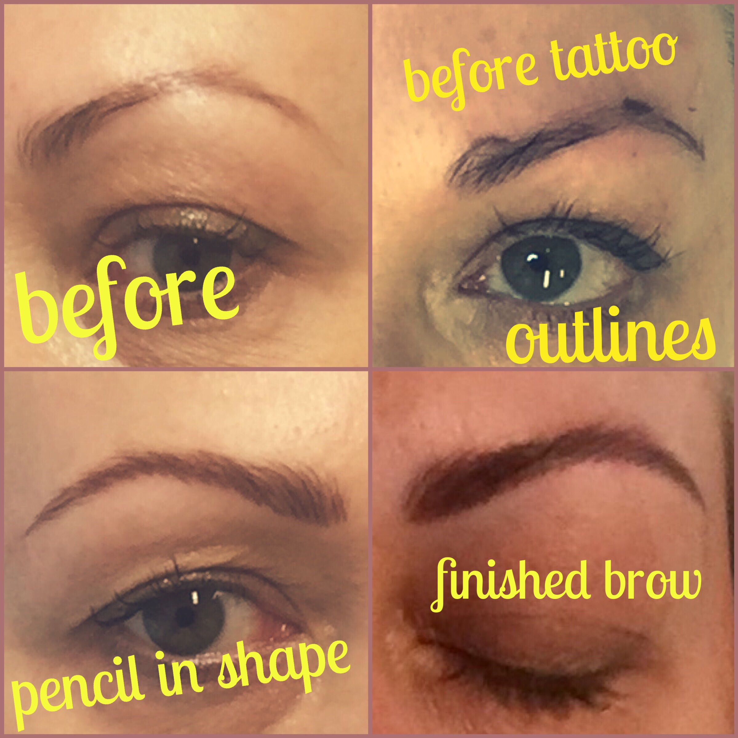 Dynasty Clinic Semi Permanent Eyebrows Beauty And The Dirt