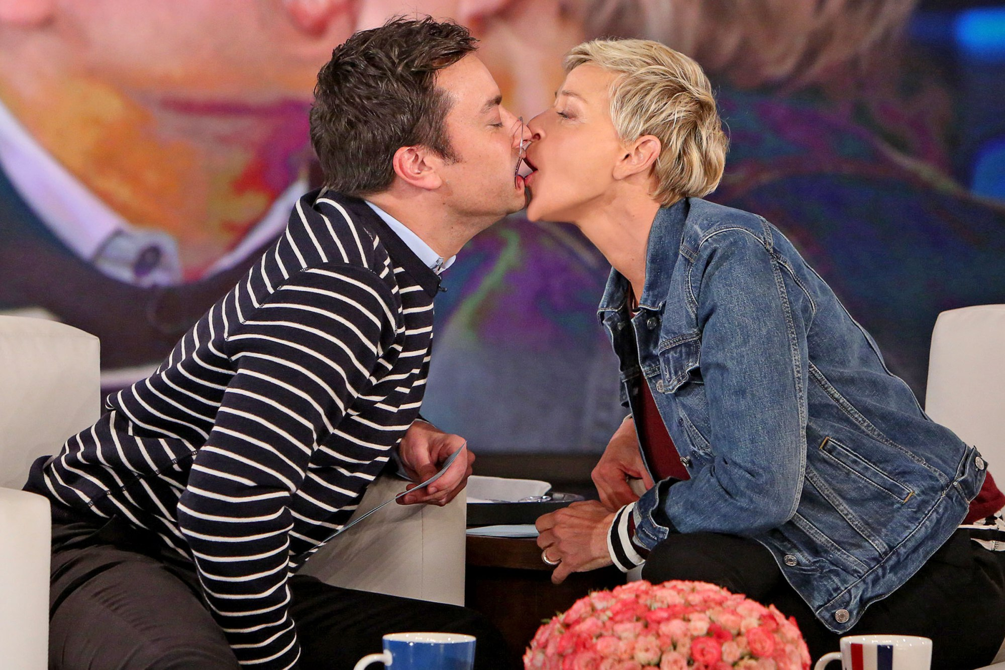Jimmy Fallon on Ellen DeGeneres